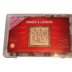 Snake and Lader Kalamkari