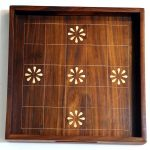 Cedar Wood 5 House Chowkabara Tray