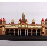 Wood Mysore Palace 10 Inch With Light